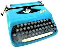 The legendary Diplomat typewriter